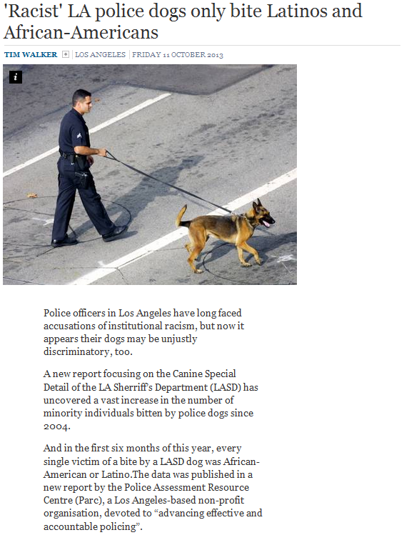 racist-la-police-dogs-only-bite-latinos-and-african-american