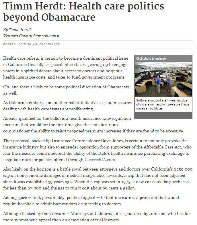 health care politics beyond obamacare