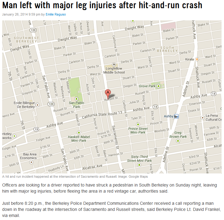 man left with major leg injuries after hit-and-run crash