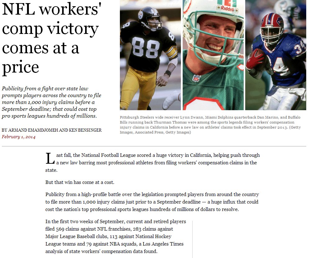 nfl workers comp victory comes at a price