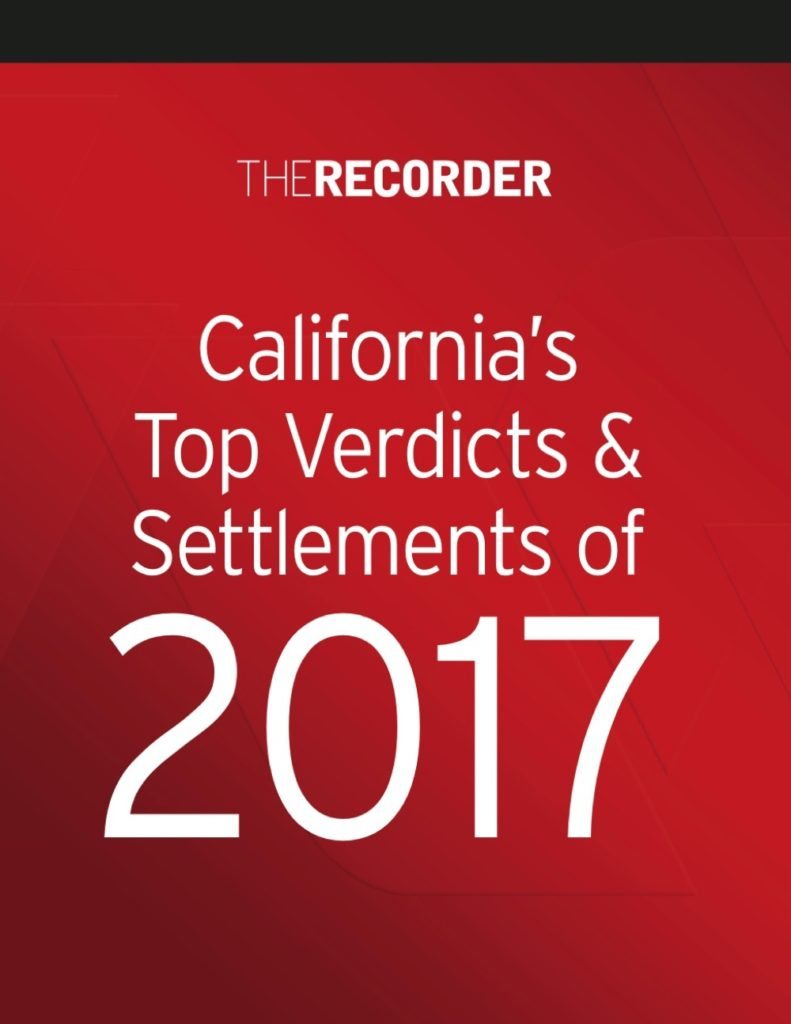 California's Top 20 Verdicts